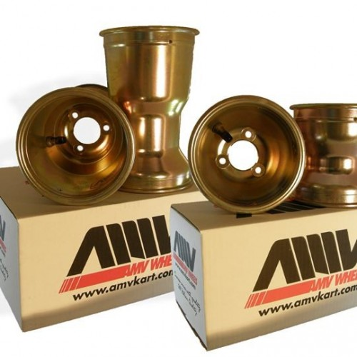 Set 4 jantes magnésium 130/212 mm AMV (2 types)