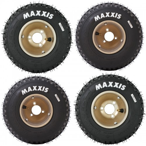 Train de pneus MAXXIS Pluie MW CIK WET (2AV+2AR)