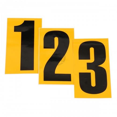 Numéro adhésif