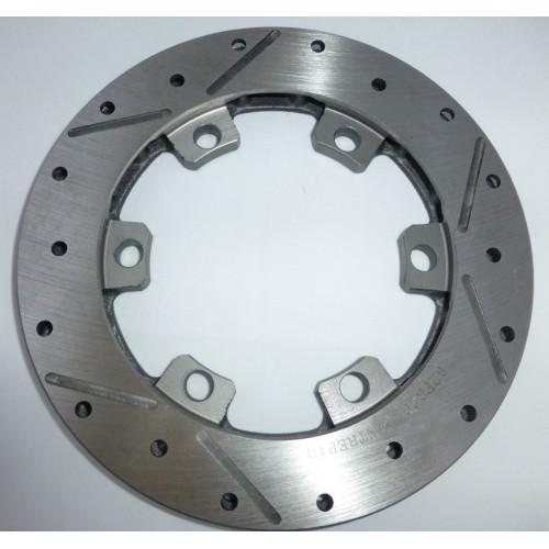 Disque de frein AR flottant turbo ventilé spécial 195X16mm