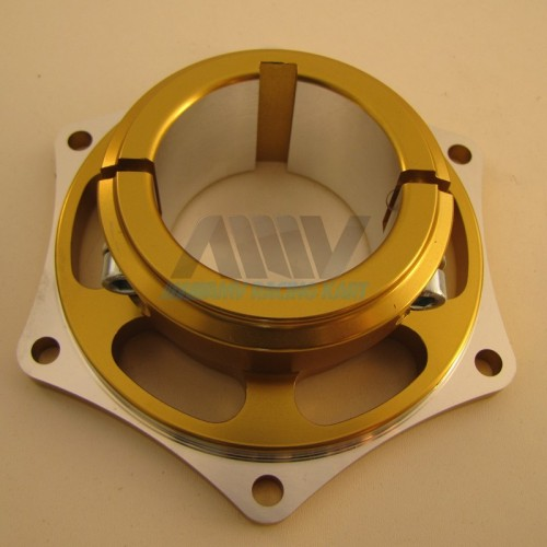 Support disque aluminium Or ou Noir, diamètre 25-30-40-50mm