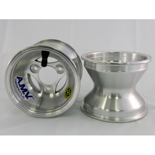 Jante avant aluminium AMV  KZ (moyeu)
