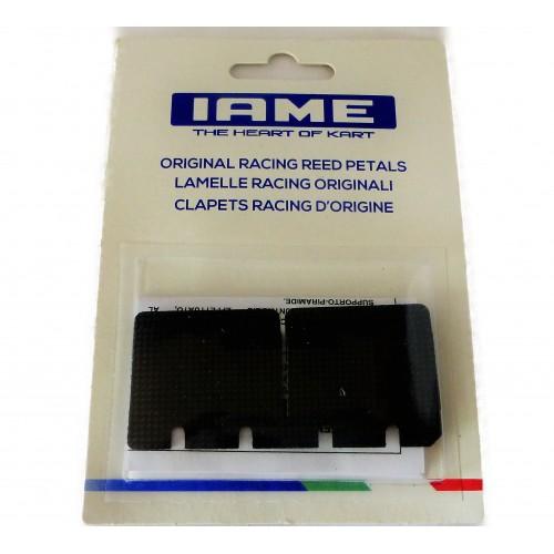 Clapets Carbone IAME 0.28, le jeu X30