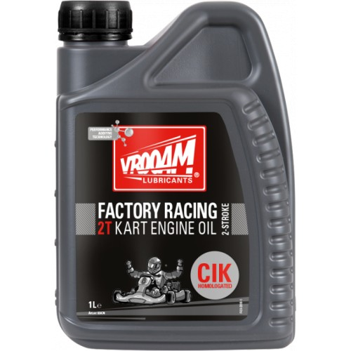 HUILE VROOAM FACTORY RACING OIL KART 2 T