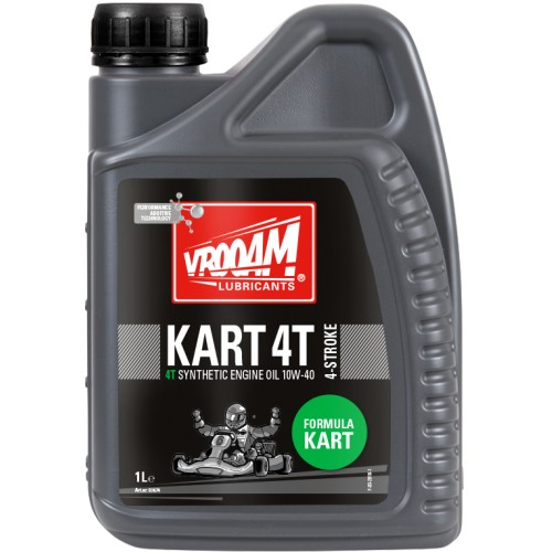 HUILE VROOAM RACING OIL KART 4 T 10W-40