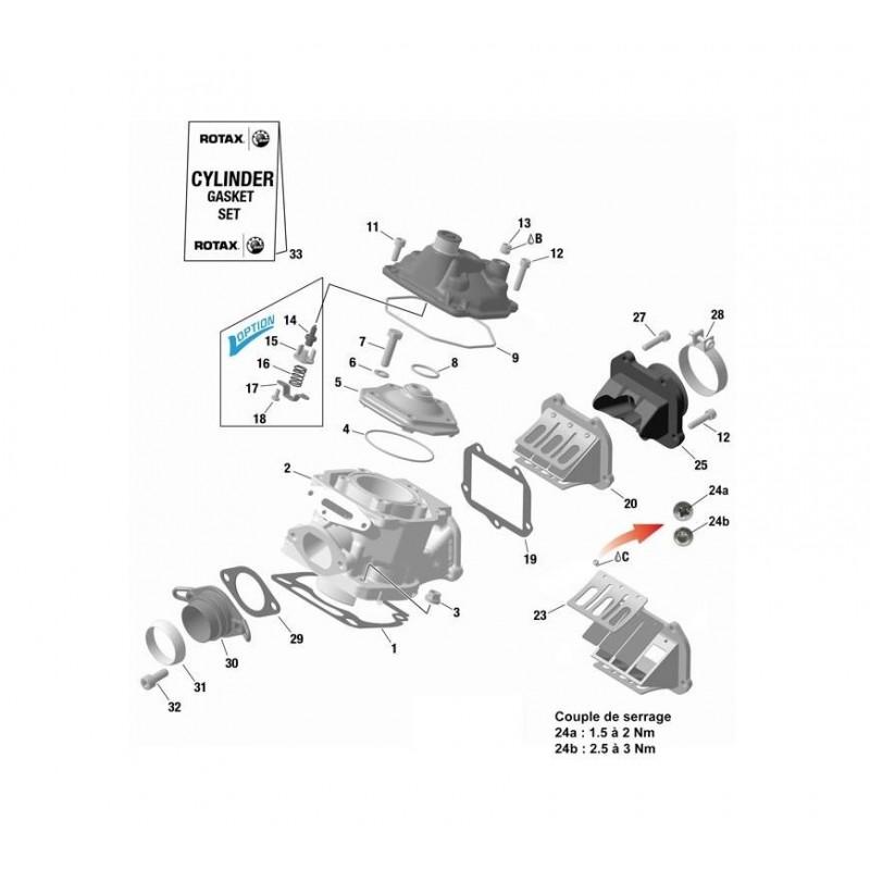 VIS M6X25 PERCEE POUR PLOMBAGE