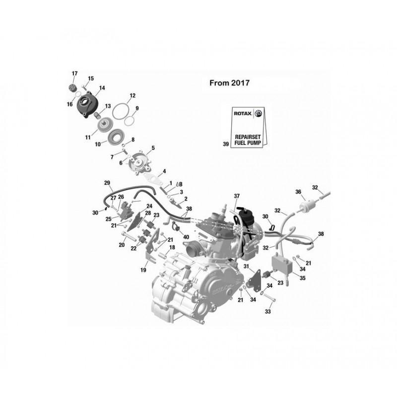 DURITE DE PRESSION-NOIR- 220MM