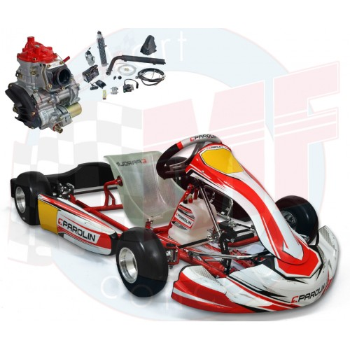 KART PAROLIN MOTORSPORT MINI CIK 2020 CADET