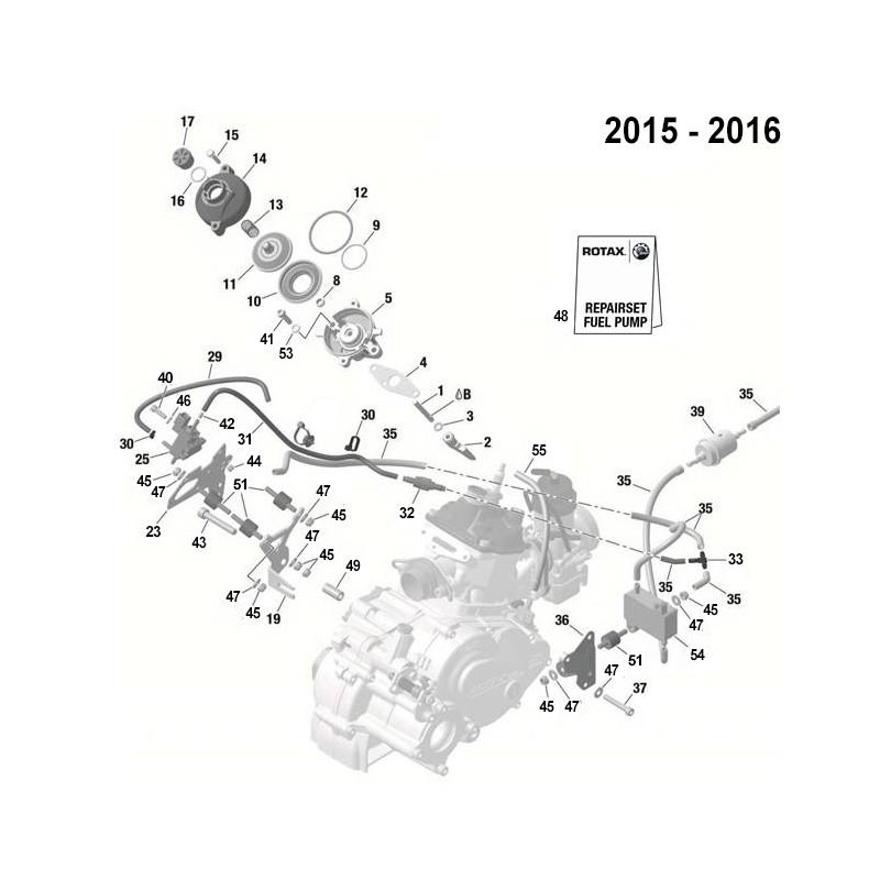 VALVE ELECTRO-POMPE ESSENCE 2015-2016