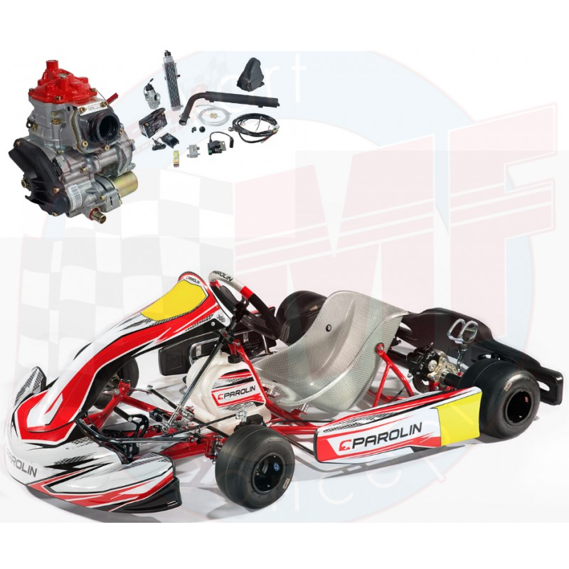 ENSEMBLE PAROLIN INVADER ECO ROTAX MAX JUNIOR OU ROTAX MAX EVO