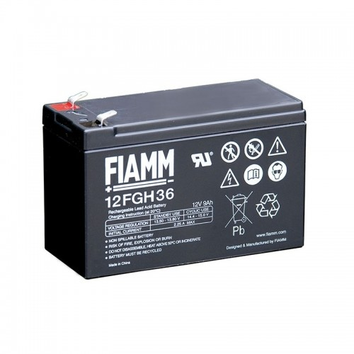 BATTERIE PLOMB FIAMM 12 FGH 36  12V - 9 A