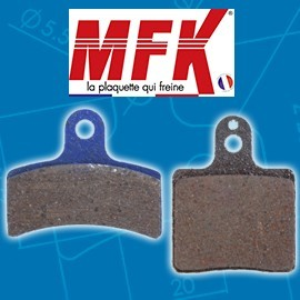 Plaquettes MFK avant